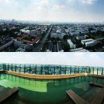 A17 ขายด่วน คอนโด ดิ แอดเดรส พญาไท 2 bed 61 sq.m at 33 floor THE ADDRESS PHAYATHAI