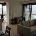 For sale very height floor A tower The river, 2 bed ,109sq.m, เดอะ ริเวอร์