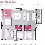 A34 ขายคอนโด เดอะ ล็อฟท์ เย็นอากาศ 3 bed 180 sq.m The Lofts Yen-akart