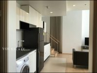 For Sale HQ Thonglor by sansiri Duplex 84.5 sq.m 2 bed