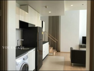 For Sale HQ Thonglor by sansiri Duplex 84.5 sq.m 2 bed