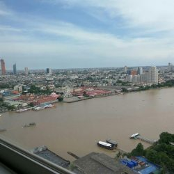For sale Supalai river place River view 53 sqm  1 bedroom 1bathroom on 24 floor  ศุภาลัย ริเวอร์เพลส