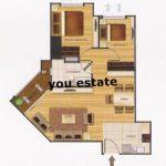 BGR Belle Grand Rama9 for rent or sale! , 2 bed, เบลล์ แกรนด์ พระราม 9