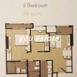 for sale IDEO MOBI  Sukhumvit 81, 52 sq.m,2 bed ไอดิโอ โมบิ สุขุมวิท 81