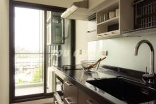 For sale  The Tree Rio ,61 sq.m, 2 bed  ,pool view and river view เดอะทรีริโอ ห้องมุม