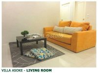 For sale Villa Asoke,2 bed ,81sq.m วิลล่า อโศก วิวสระว่ายน้ำ