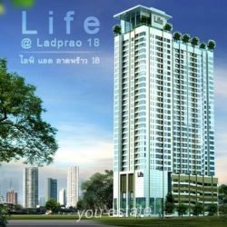 For sale Life  @ Ladprao 18., 64.92 sq.m 2 bed ไลฟ์ แอท ลาดพร้าว