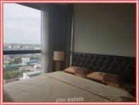 For sale or rent Rhythm Sukhumvit  44/1 ,2 bedroom, 53 sqm, 20th floor ,fantastic city view, no block