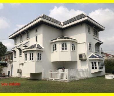 ขายบ้านพร้อมที่ดิน 202 ตรว บีทีเอส ปุณณวิถึ 2 กิโล หมู่บ้านลานนาไทย ปุณณวิถี 32